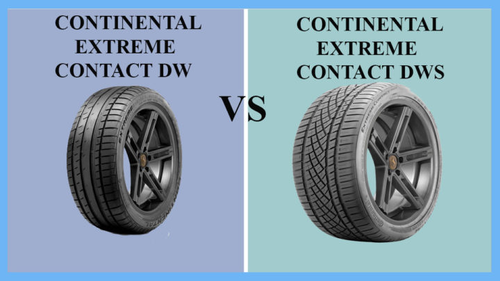 Continental ExtremeContact DW vs DWS