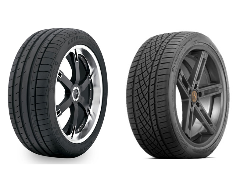 Continental Extremecontact Dw >> Continental Extremecontact Dw Vs Dws Tirepost Com