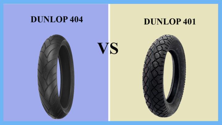 Dunlop D404 vs D401