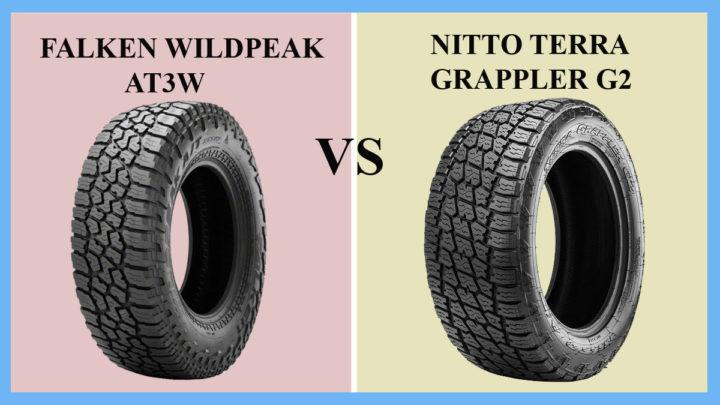 Falken Wildpeak AT3W vs Nitto Terra Grappler G2