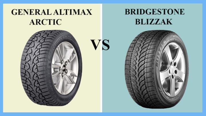 General AltiMAX Arctic vs Bridgestone Blizzak