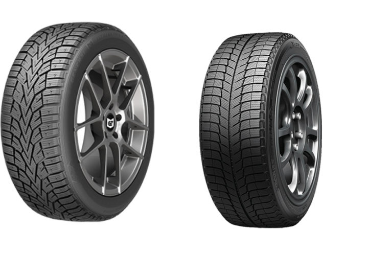 General AltiMAX Arctic vs Michelin X-Ice XI3