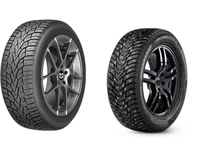 General Altimax Arctic vs Nokian