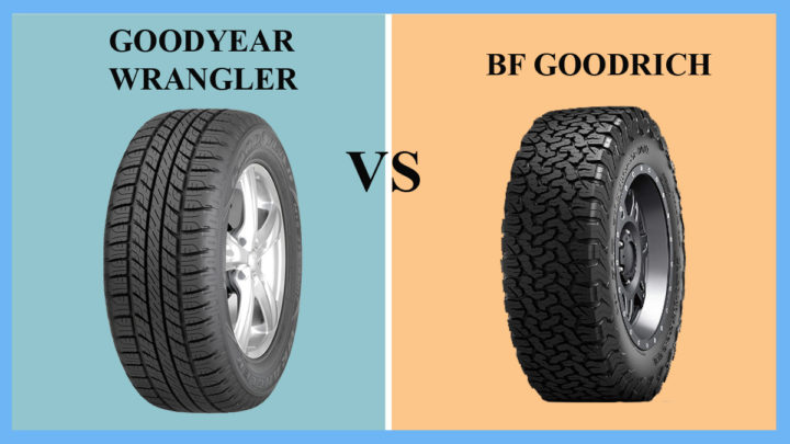 Goodyear Wrangler vs BF Goodrich