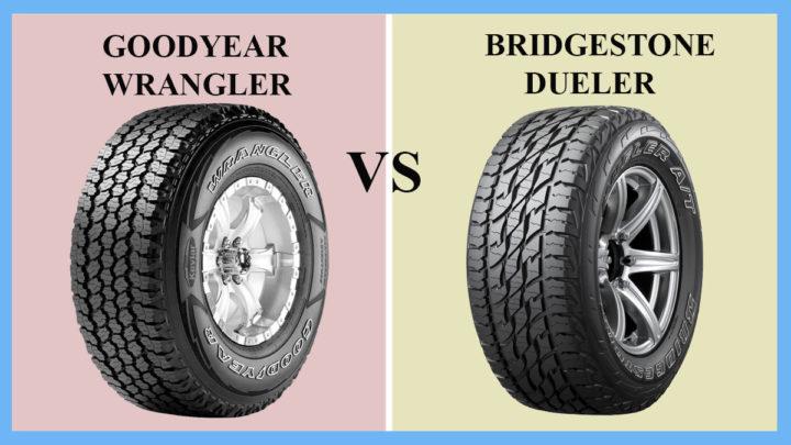 Goodyear Wrangler vs Bridgestone Dueler