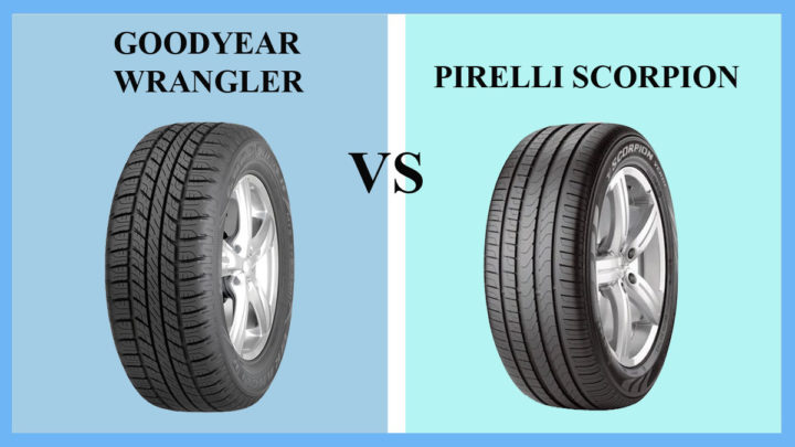 Goodyear Wrangler vs Pirelli Scorpion