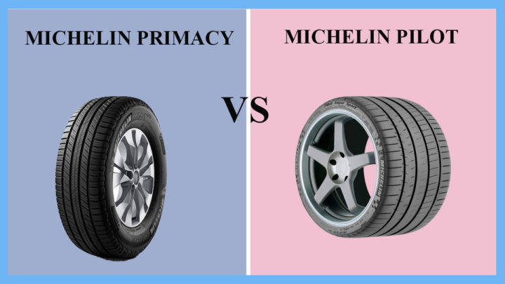 Michelin Primacy vs Pilot