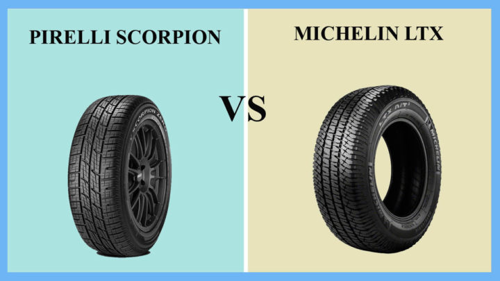 Pirelli Scorpion vs Michelin LTX