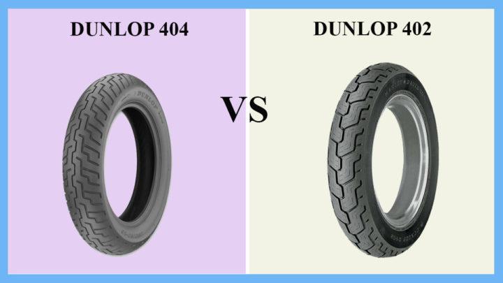 Dunlop D404 vs D402