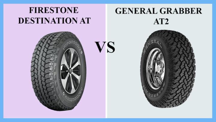 Firestone Destination AT vs General Grabber AT2