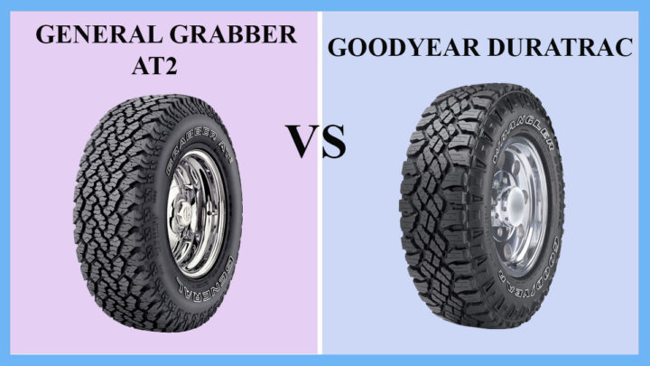 General Grabber AT2 vs Goodyear Duratrac