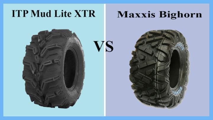 ITP Mud Lite XTR vs Maxxis Bighorn