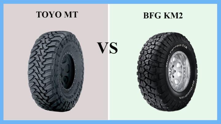 Toyo MT vs BFG KM2