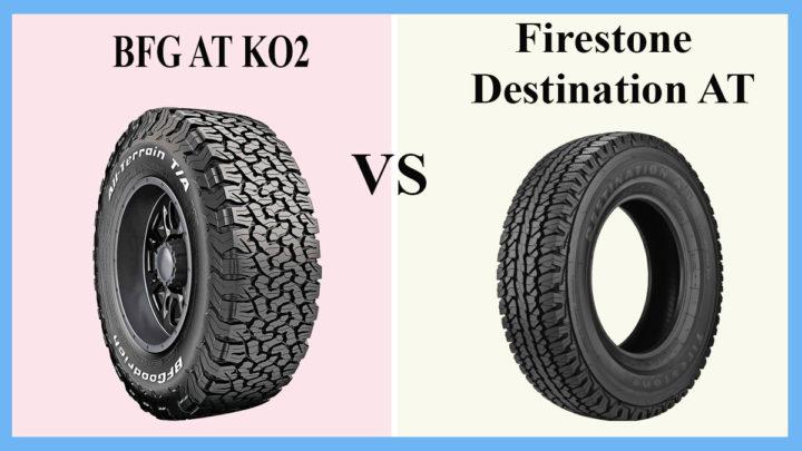 BFG AT KO2 vs Firestone Destination AT