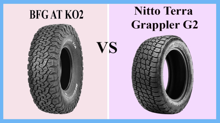 BFG AT KO2 vs Nitto Terra Grappler G2