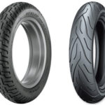 Dunlop D404 vs Michelin Commander 2