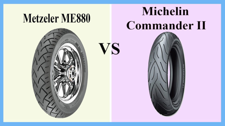 Metzeler M880 vs Michelin Commander II