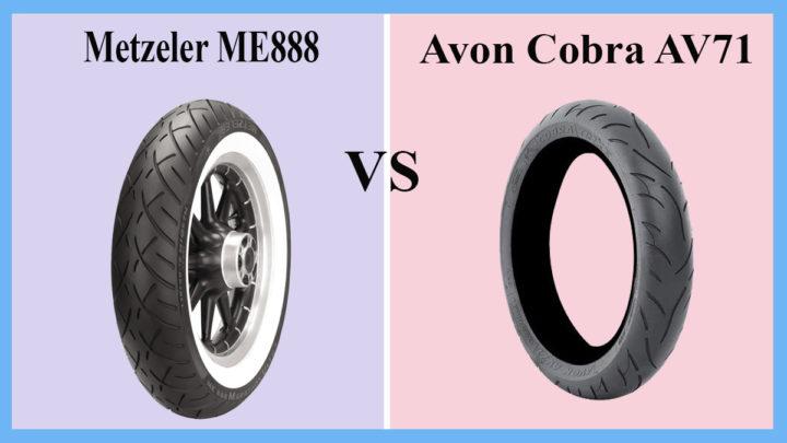 Metzeler ME888 vs Avon Cobra AV71