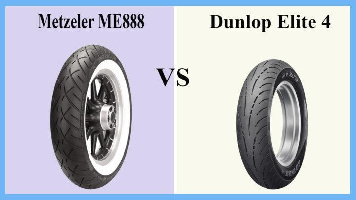 Metzeler ME888 vs Dunlop Elite 4