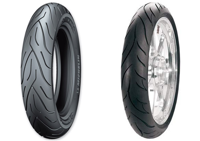 Michelin Commander 2 vs Avon Cobra AV71