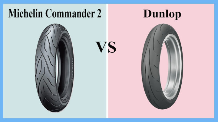 Michelin Commander 2 vs Dunlop