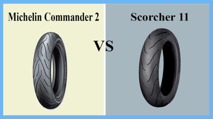 Michelin Commander 2 vs Scorcher 11