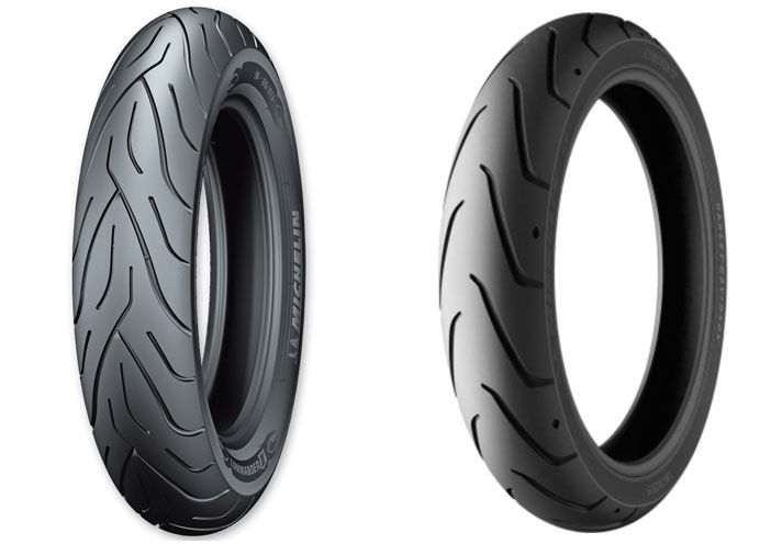 Michelin Commander 2 vs Scorcher 11