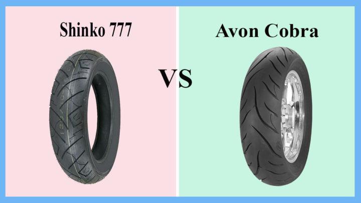 Shinko 777 vs Avon Cobra