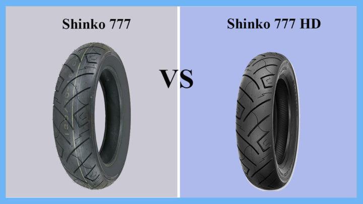 Shinko 777 vs Shinko 777 HD