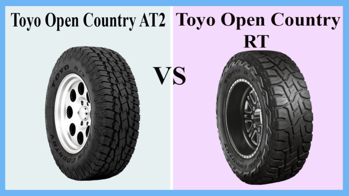 Toyo Open Country AT2 vs RT
