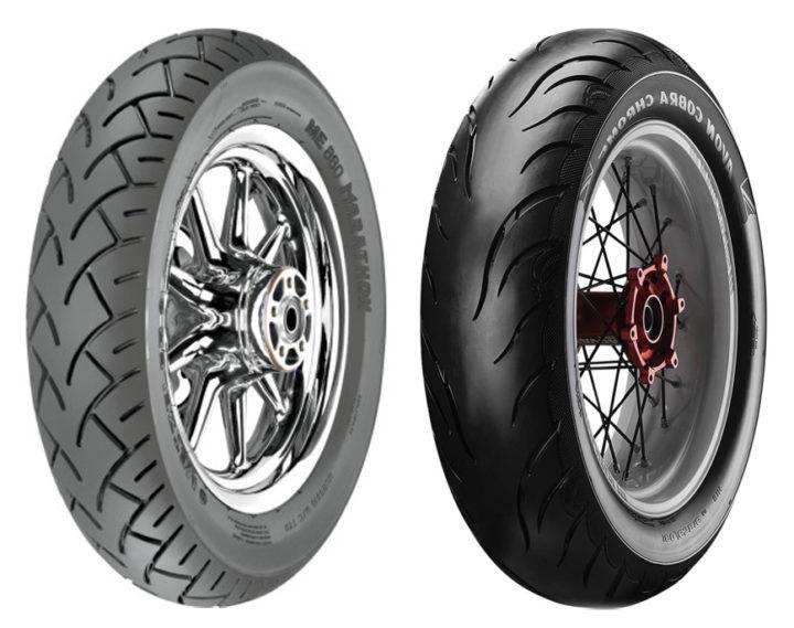 Metzeler M880 vs Avon Tire Cobra Chrome