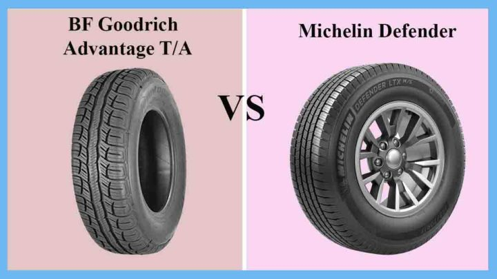 BF Goodrich Advantage T/A vs Michelin Defender