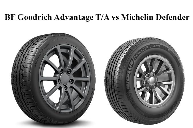 BF Goodrich Advantage T/A vs Michelin Defender