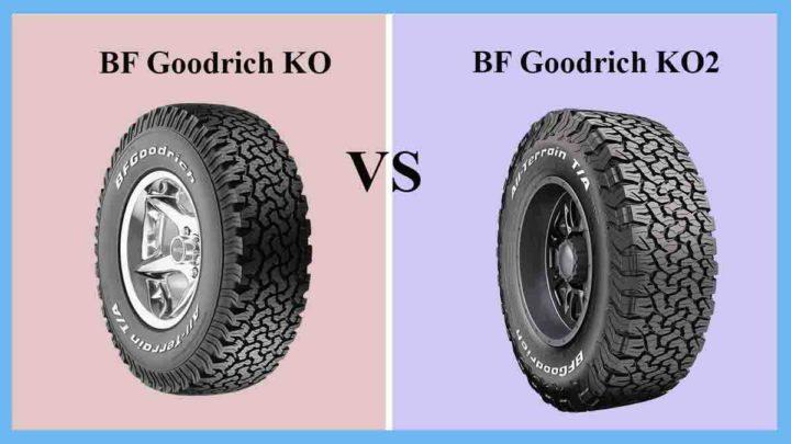 BF Goodrich KO vs KO2