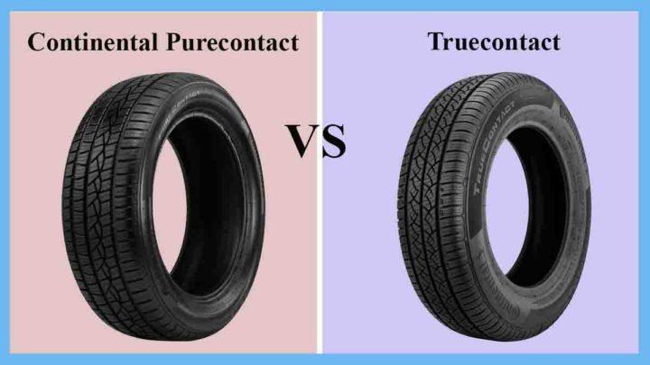 Continental Purecontact vs Truecontact