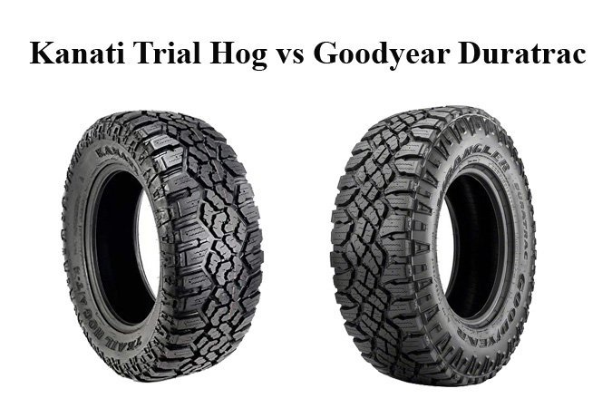 Kanati Trail Hog vs Goodyear Duratrac