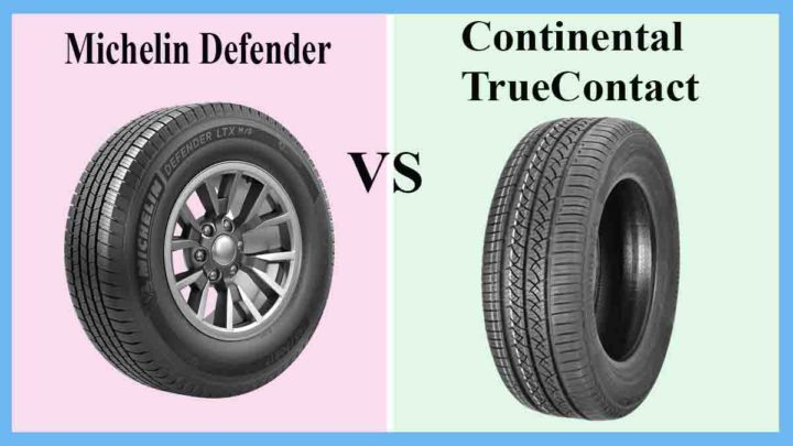 Michelin Defender vs Continental TrueContact