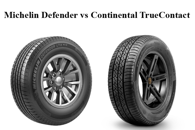 Michelin Defender vs Continental TrueContact