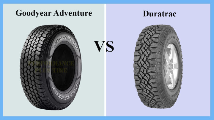 Goodyear Adventure vs Duratrac