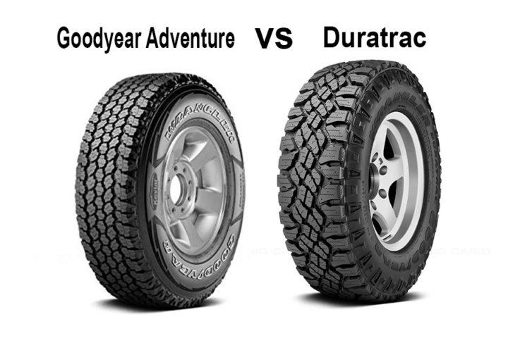Goodyear Adventure vs Duratrac
