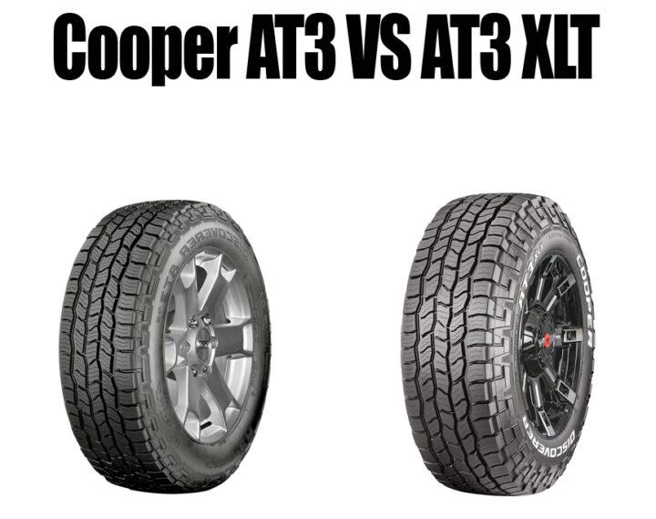 Cooper AT3 Vs AT3 XLT