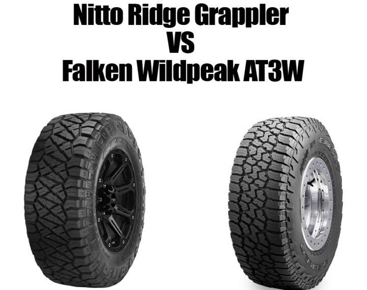 Nitto Ridge Grappler vs Falken Wildpeak AT3W