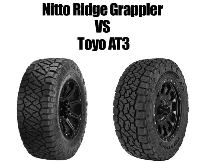 Nitto Ridge Grappler vs Toyo AT3