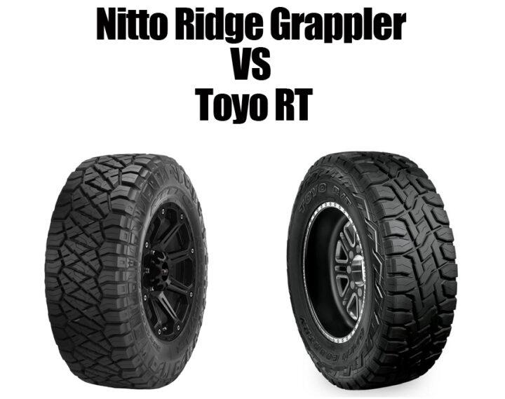 Nitto Ridge Grappler Vs Toyo RT