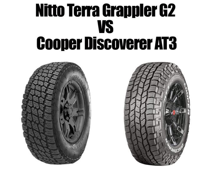 Nitto Terra Grappler G2 vs Cooper Discoverer AT3