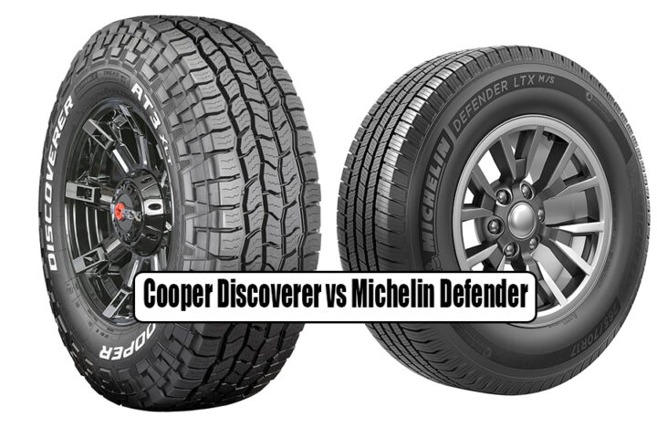 Cooper Discoverer vs Michelin Defender