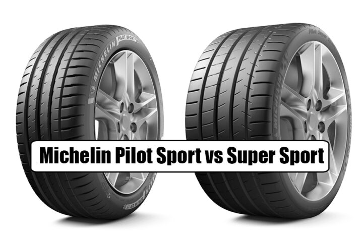 Michelin Pilot Sport vs Super Sport