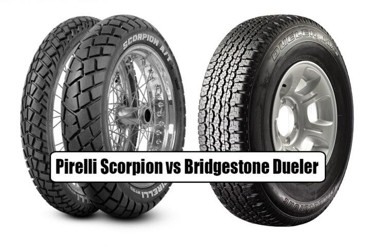 Pirelli Scorpion vs Bridgestone Dueler