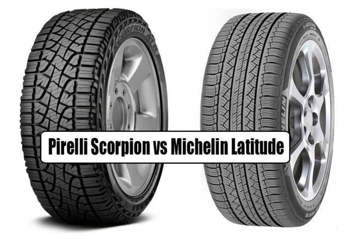 Pirelli Scorpion vs Michelin Latitude