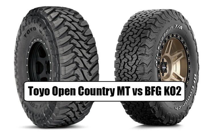 Toyo Open Country MT vs BFG KO2